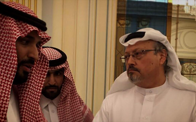 The Dissident Szenenbild Kronprinz Mohammed bin Salman und Jamal Khashoggi